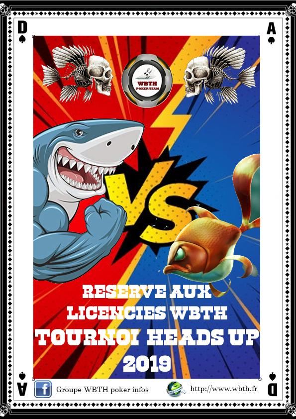 Affiche tournoi head up 2020