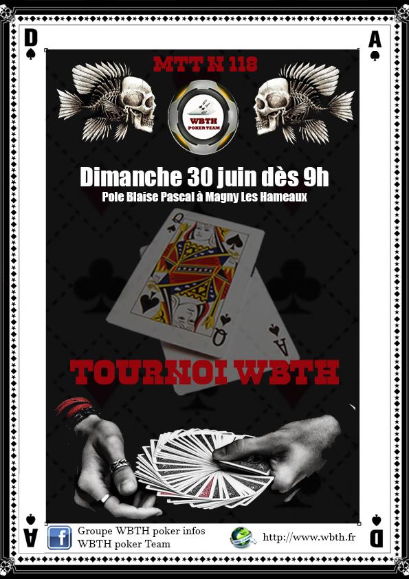 Affiche tournoi wbth 118