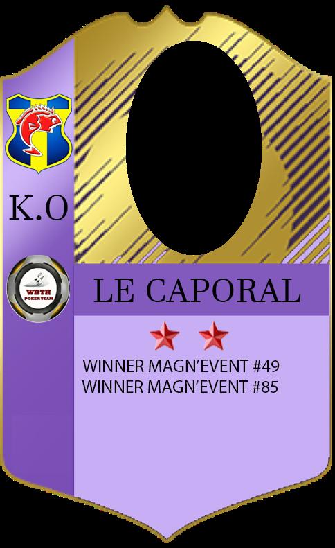Le caporal 2