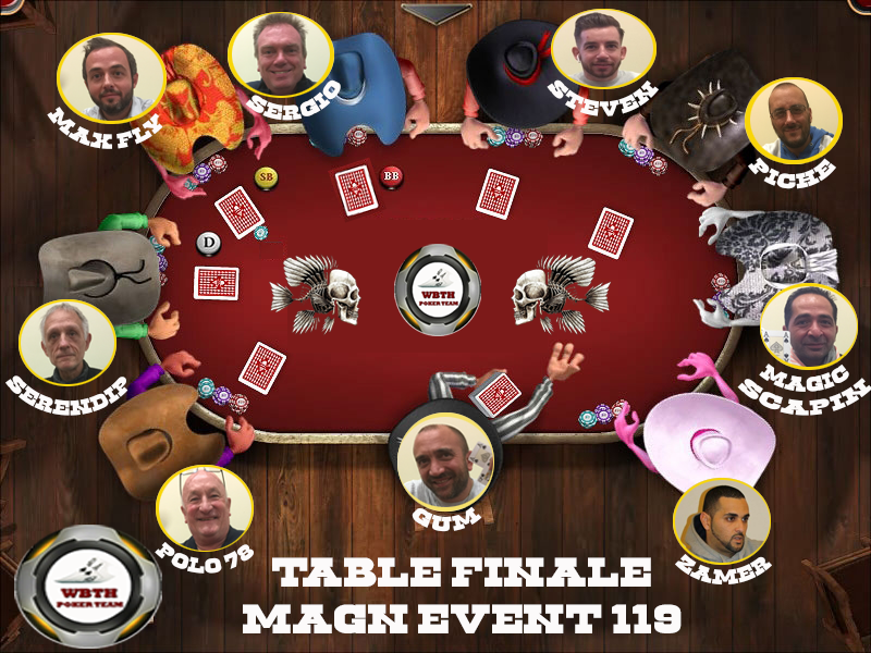 Table finale magn event 120