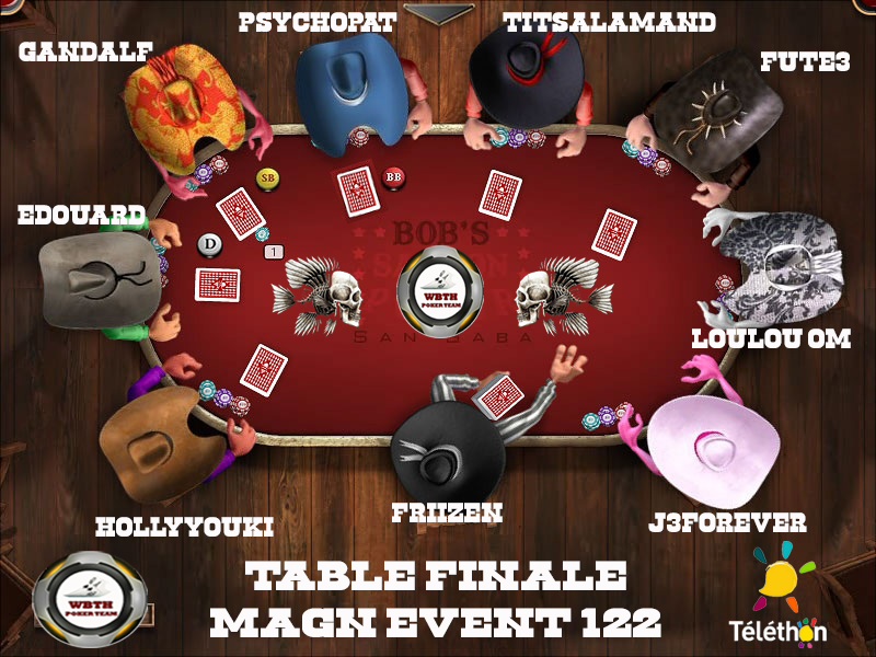 Table finale magn event 122