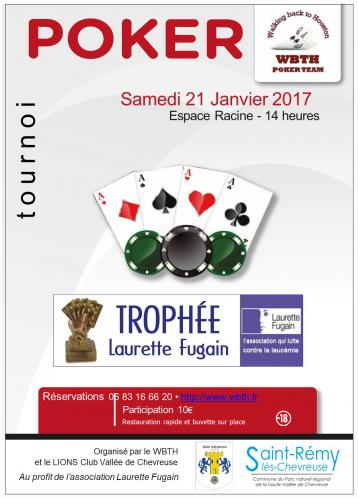 Tournoi poker affiche 1