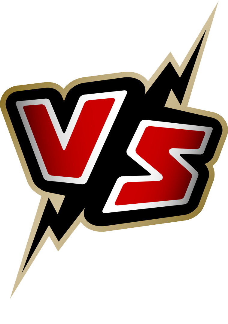 Versus letters vs logo vector 13673484